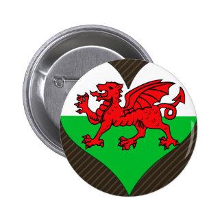 I Love Welsh 2 Inch Round Button