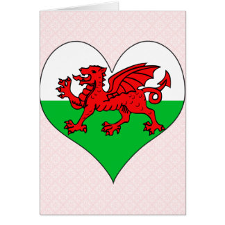 I Love Welsh Card