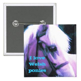 I love Welsh ponies Button