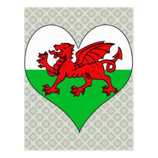 I Love Welsh Postcard