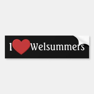 I love Welsummers Bumper Sticker