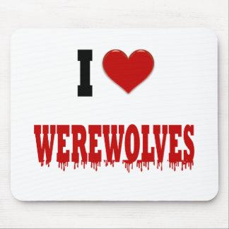I love Werewolves Mousepad