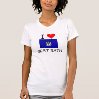 I Love West Bath Maine Tshirts