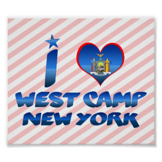 I love West Camp, New York Poster
