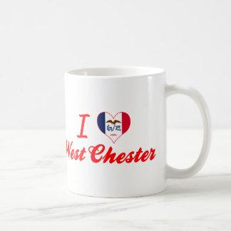 I Love West Chester, Iowa Classic White Coffee Mug