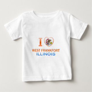 I Love West Frankfort, IL Shirts