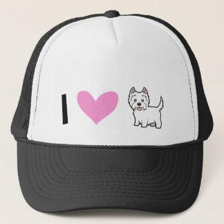 I Love West Highland White Terriers Trucker Hat