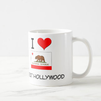 I Love WEST HOLLYWOOD California Coffee Mug