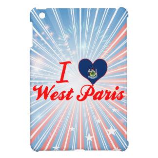 I Love West Paris, Maine iPad Mini Cover