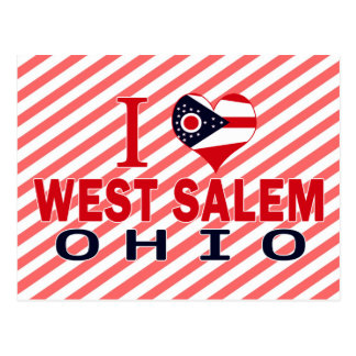 I love West Salem Ohio Post Cards