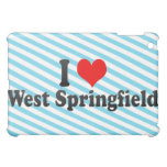 I Love West Springfield, United States Cover For The iPad Mini