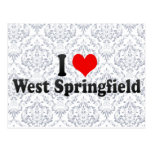 I Love West Springfield, United States Post Cards