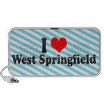 I Love West Springfield, United States Mini Speaker
