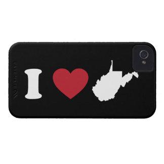 I Love West Virginia Case-Mate iPhone 4 Case