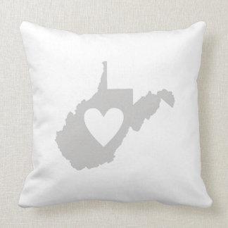 I Love West Virginia Pillows