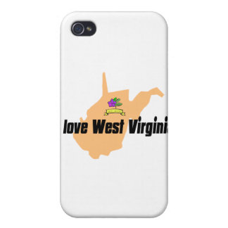 i love west virginia products iPhone 4 case