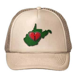 I love West Virginia Too Trucker Hat