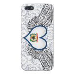 I Love West Virginia -wings Covers For iPhone 5