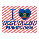 I Love West Willow, PA Post Cards