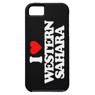 I LOVE WESTERN SAHARA iPhone 5/5S CASES
