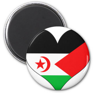 I Love Western Sahara Fridge Magnet