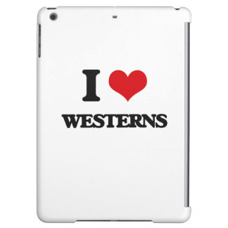 I love Westerns iPad Air Cases