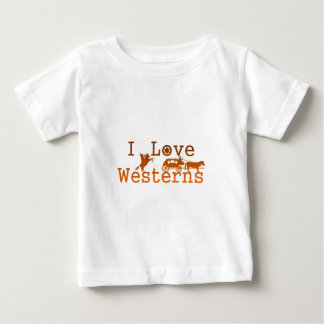 I Love Westerns.png Baby T-Shirt