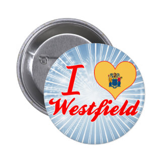 I Love Westfield New Jersey Buttons