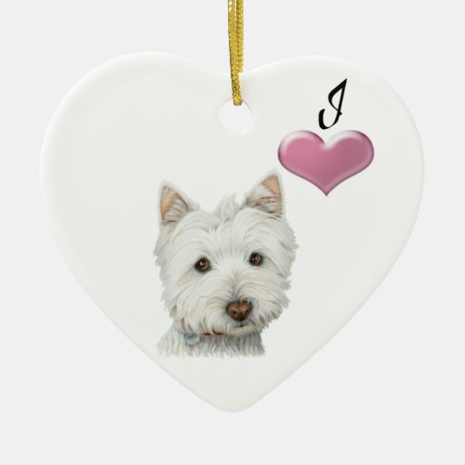 I love Westie dogs Ornament
