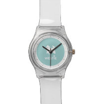 I Love Westie Dogs - West Highland White Terrier Wrist Watch