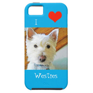 I Love Westies,  Westie Looking at You iPhone SE/5/5s Case