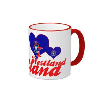 I Love Westland, Michigan Coffee Mug