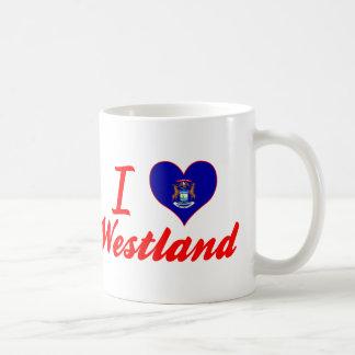I Love Westland, Michigan Mugs
