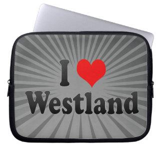 I Love Westland United States Laptop Computer Sleeve