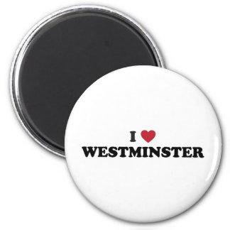 I Love Westminster Colorado 2 Inch Round Magnet