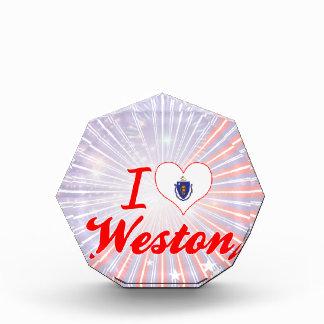 I Love Weston, Massachusetts Award