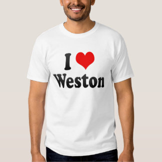 I Love Weston, United States Tee Shirt