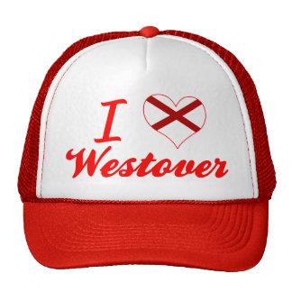 I Love Westover, Alabama Mesh Hat