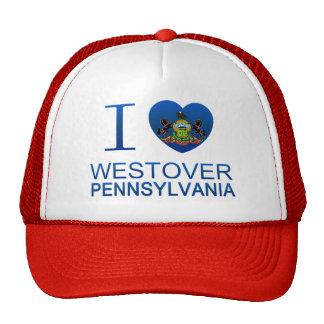 I Love Westover, PA Mesh Hat