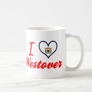 I Love Westover, West Virginia Mug