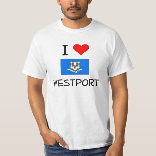 I Love Westport Connecticut T-Shirt