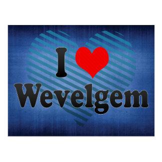 I Love Wevelgem, Belgium Postcard