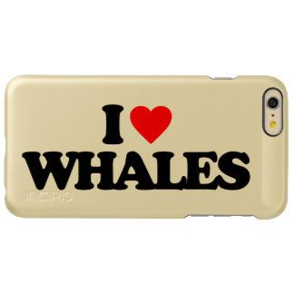 I LOVE WHALES INCIPIO FEATHER SHINE iPhone 6 PLUS CASE