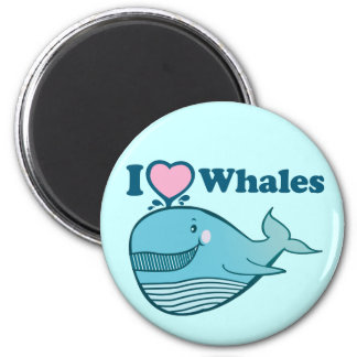 I love Whales Magnet