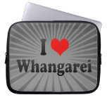 I Love Whangarei, New Zealand Laptop Sleeve