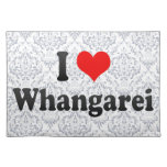 I Love Whangarei, New Zealand Placemats