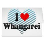 I Love Whangarei, New Zealand Stationery Note Card