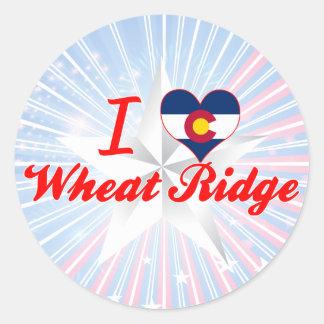 I Love Wheat Ridge, Colorado Sticker