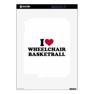 I love wheelchair basketball decal for the iPad 2