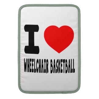 I Love Wheelchair Basketball Sleeve For MacBook Air